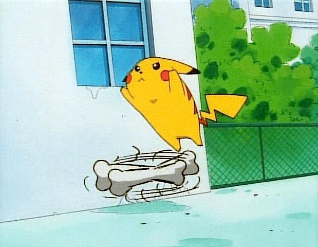pikachu cubone jump