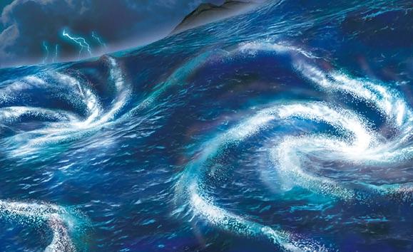 rough seas pcl art