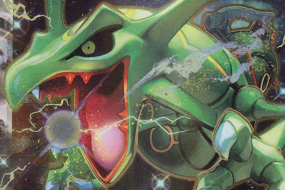 rayquaza-ex emerald break art