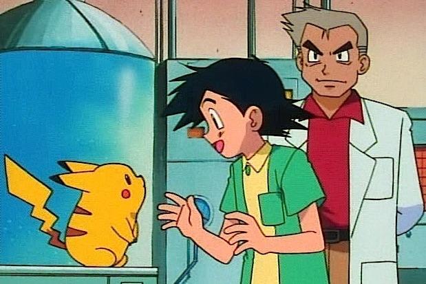 professor oak ash pikachu 3-2