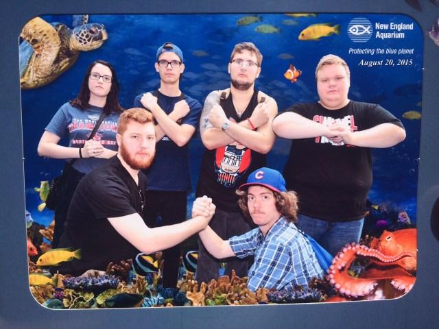 kwisdumb boston aquarium