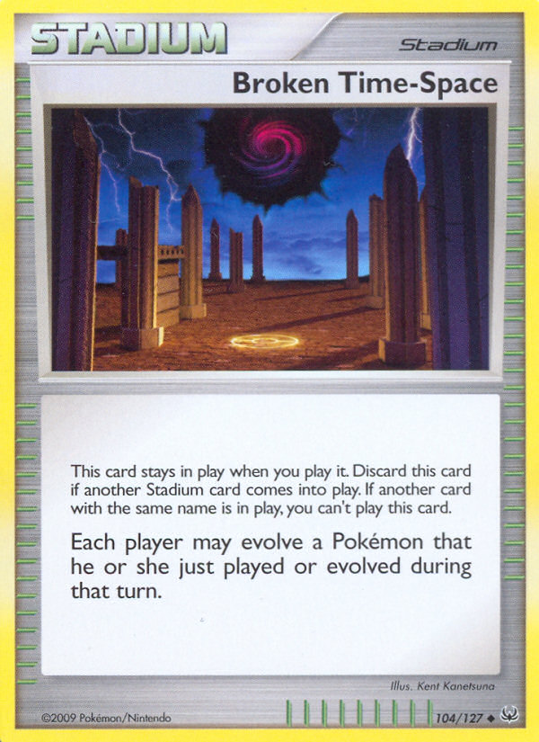 Broken Time-Space Platinum PL 104 Pokemon Card