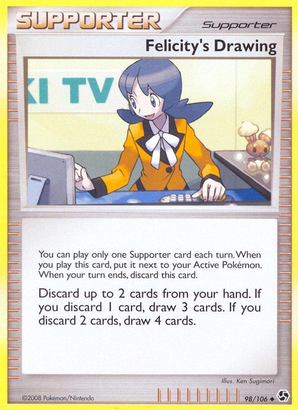 Felicitys Drawing Great Encounters GE 98 Pokemon Card