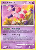 Mr. Mime Mysterious Treasures MT 30 Pokemon Card