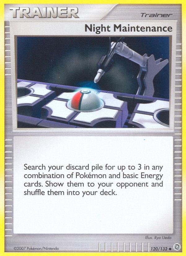 Night Maintenance Secret Wonders SW 120 Pokemon Card