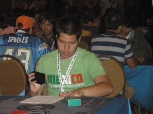 Pablo at the Pokemon TCG World Championships 2009