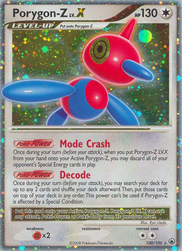 Porygon-Z LV.X Majestic Dawn MD 100 Pokemon Card