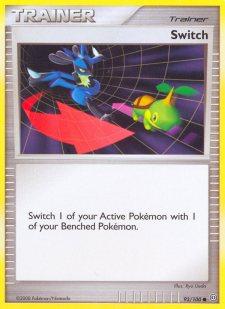 Switch Stormfront SF 93 Pokemon Card
