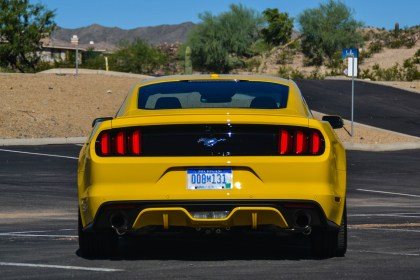 2015 Ford Mustang 2.3L EcoBoost Premium