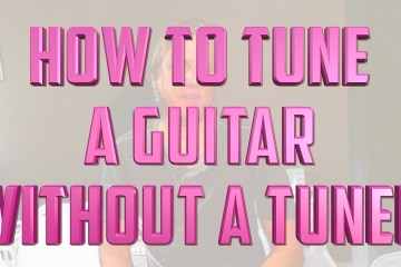 How to Tune a Guitar - Without a Tuner