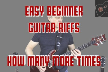 Super Easy Guitar Songs for Beginners: How Many More Times