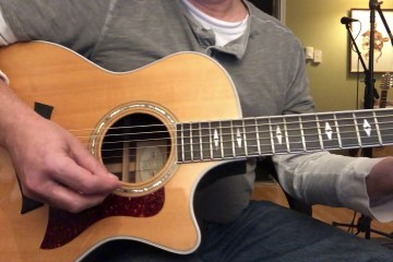 Strumming with A Pick