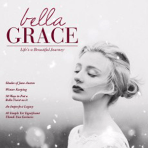 Carolyn V of Sixteen Miles Out is featured in Bella Grace Magazine