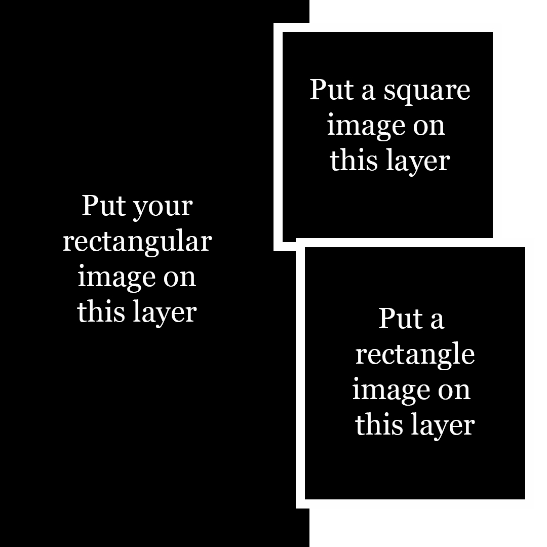 Square Template with Grids