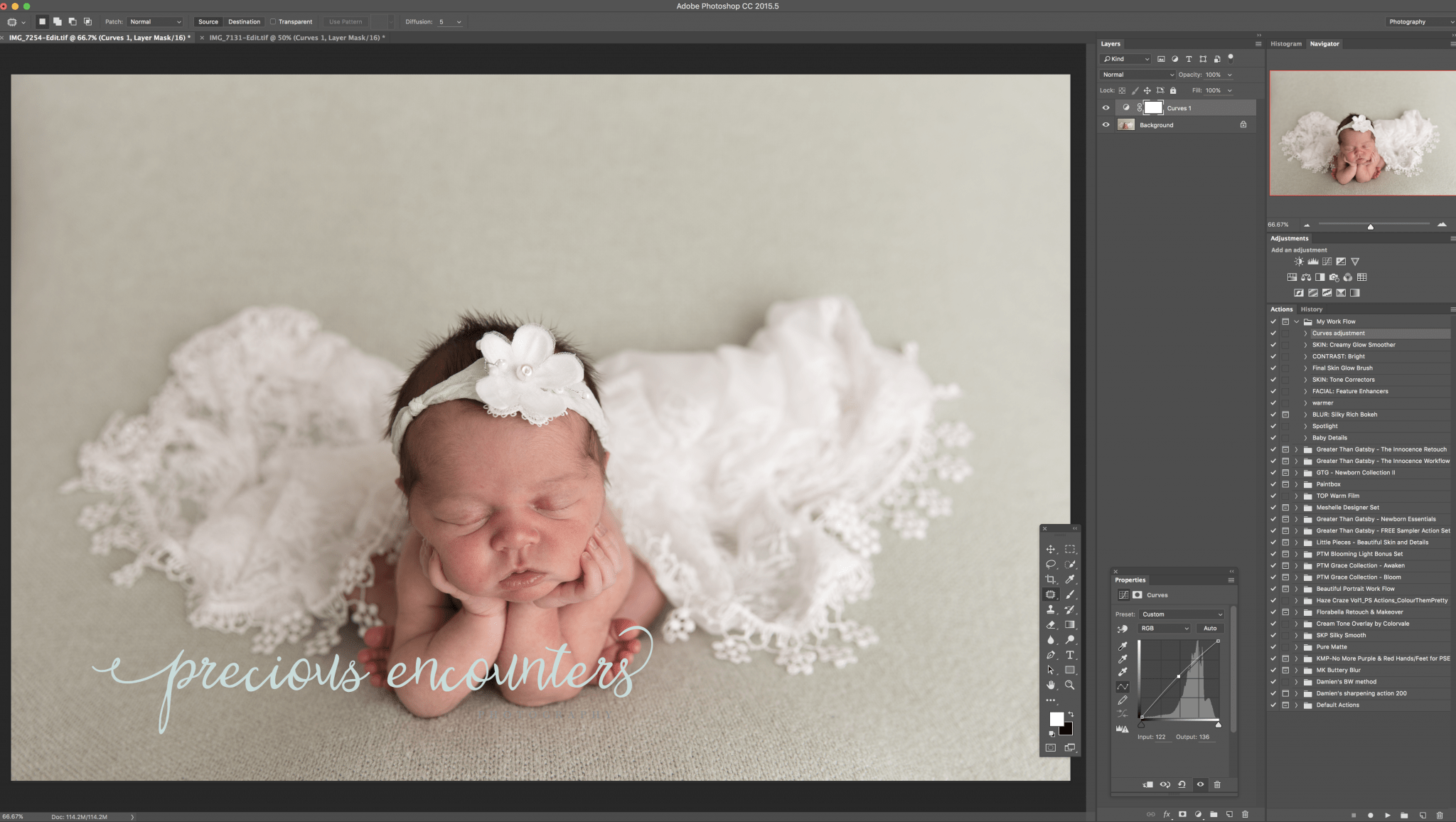 The Newborn Collection Ii Photoshop Actions