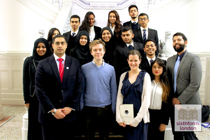 Owen Jones Delivers A Talk To Newham Collegiate Students As Part Of The NCS Lecture Programme