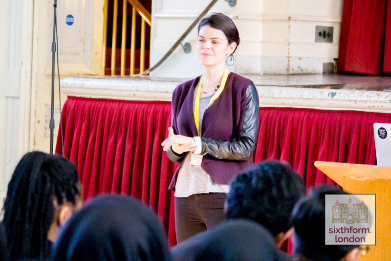Alice Bentinck MBE Inspires Newham Collegiate Sixth Form Centre (The NCS) Entreprenuers To Be Leaders In An Engaging Lecture – In Video