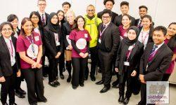 Nobel laureate Venki Ramakrishnan With Newham Collegiate Staff And Students