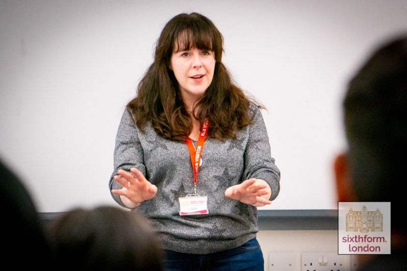 Empire Magazine's Helen O'Hara Visits Students At Newham Collegiate Sixth Form Centre