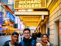 Exploring New York on our Ivy League Trip - Visiting The Richard Rogers theatre and Hamilton