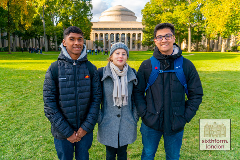 Visiting MIT University on The NCS Ivy League Preparation Programme Trip