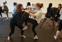 Sixth Sense Self Defence brentwood college womens workshop