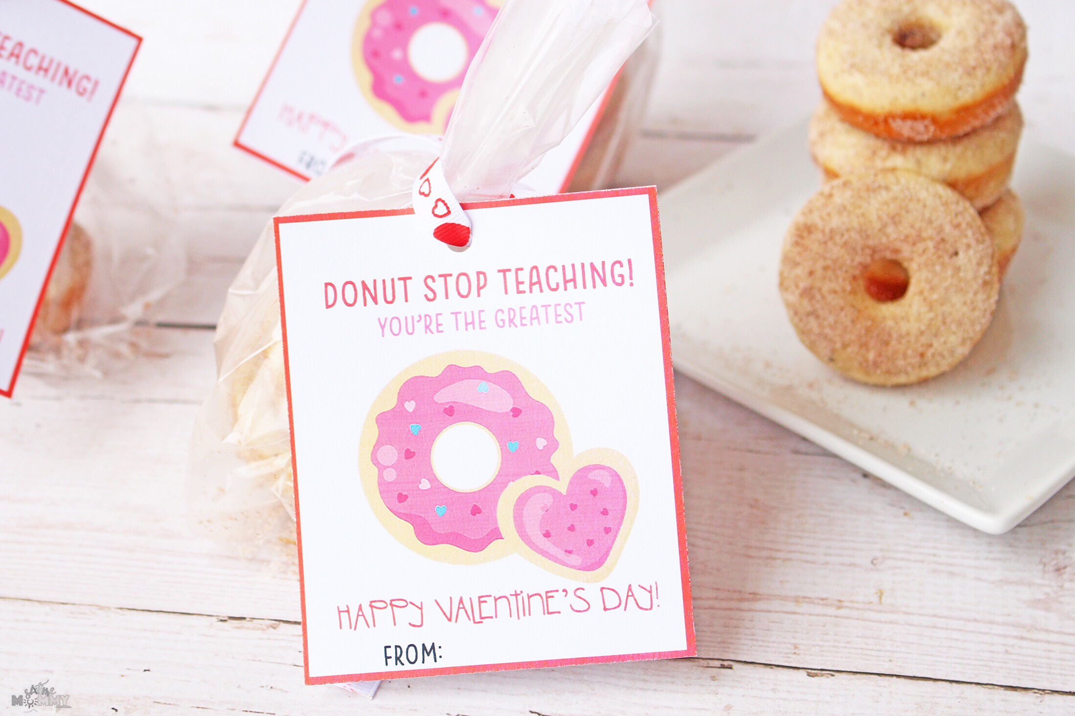 Valentine S Cards Treats For Teachers With Free Printable