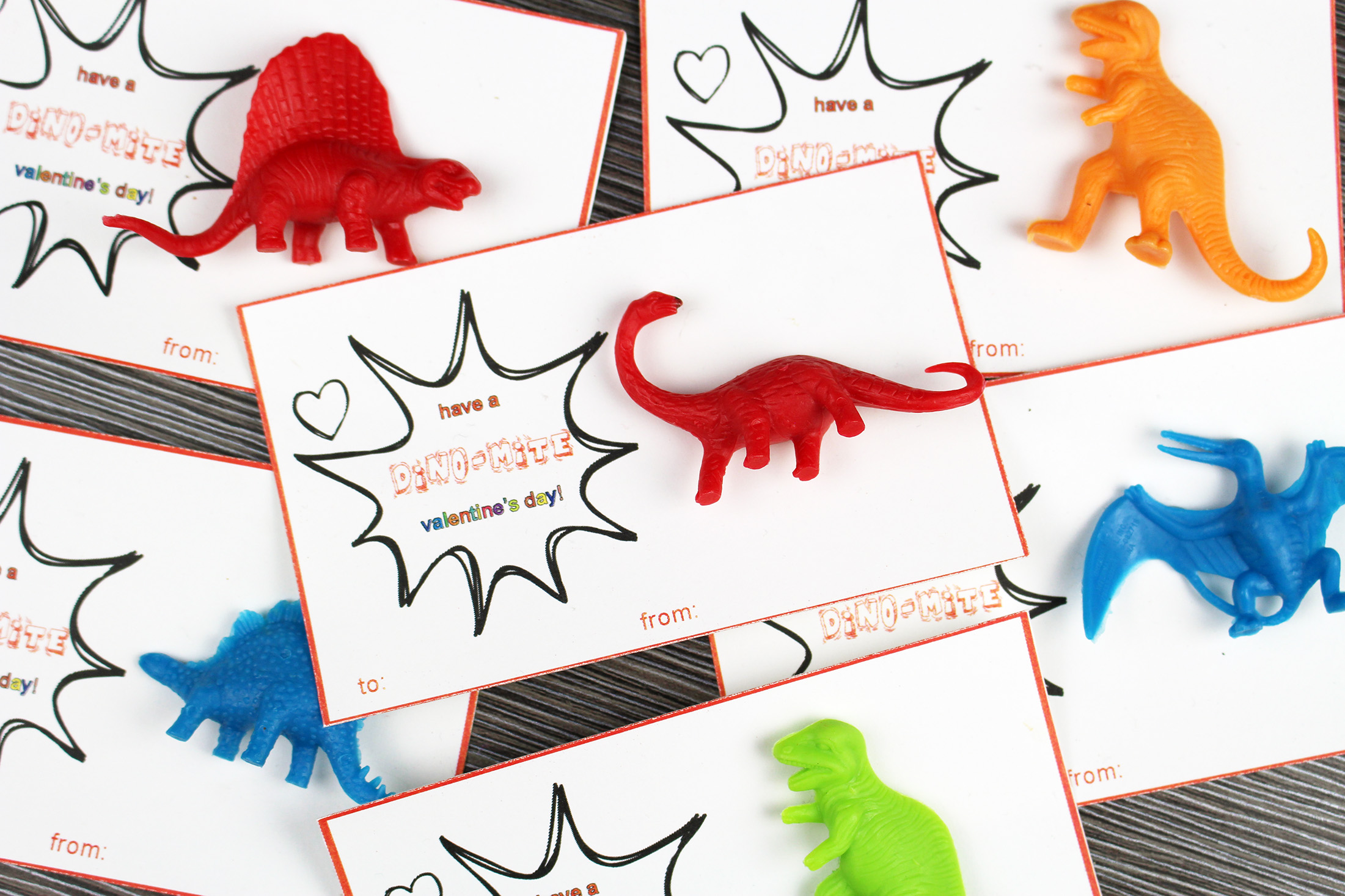 Free Printable Dinosaur Valentine S Day Cards