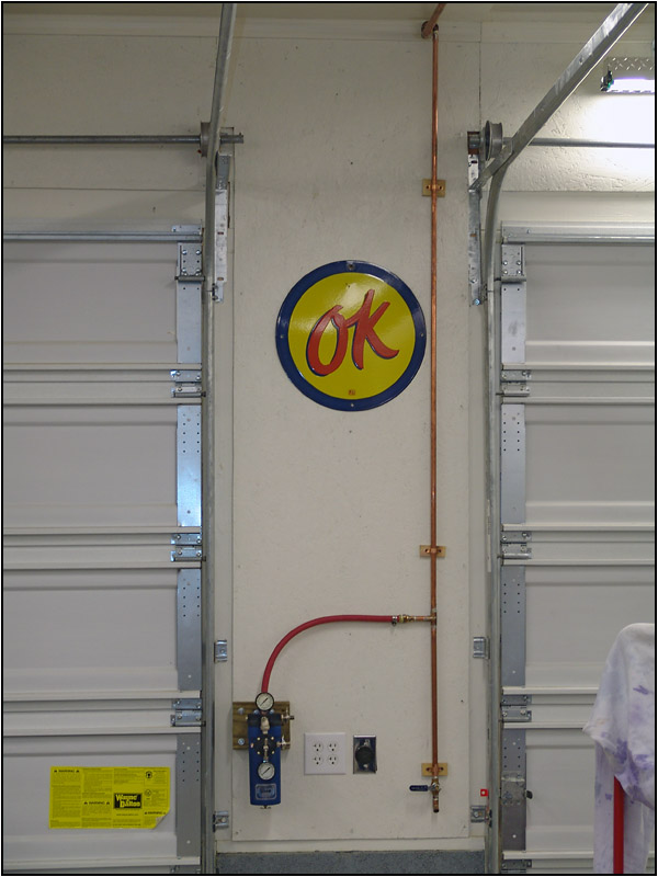 Garage Air Line System