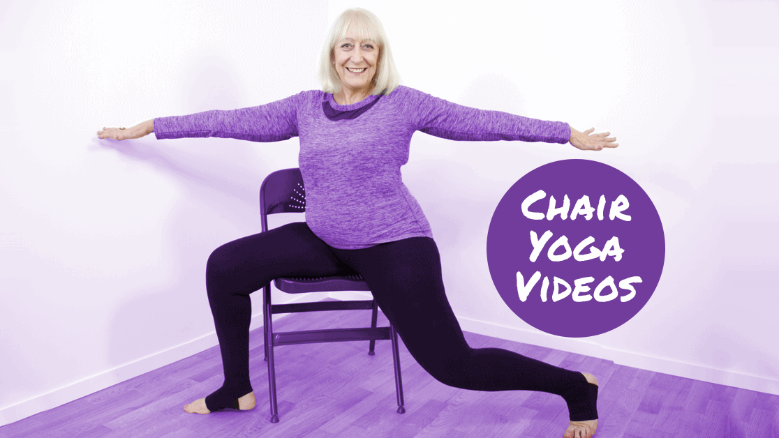 Try Our Gentle Chair Yoga for Seniors DVD and Online Videos