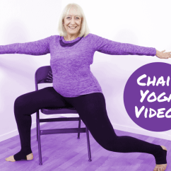 Yoga Chair Exercises For Seniors Vanity Table Try Our Gentle Dvd And Online Videos