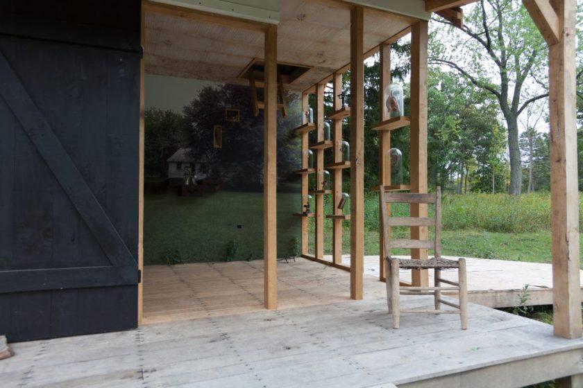 Eliza's Peculiar Cabinet of Curiosities at Lynden Sculpture Garden in Milwaukee, Wisconsin, 2016. Photo courtesy of the artist.