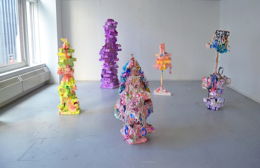 Monuments, Yvette Mayorga. Mixed media installation. Image courtesy of the artist.