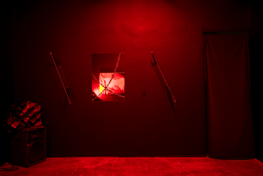 Installation view from Daughter of the Cage. Image courtesy of Boyfriends Gallery