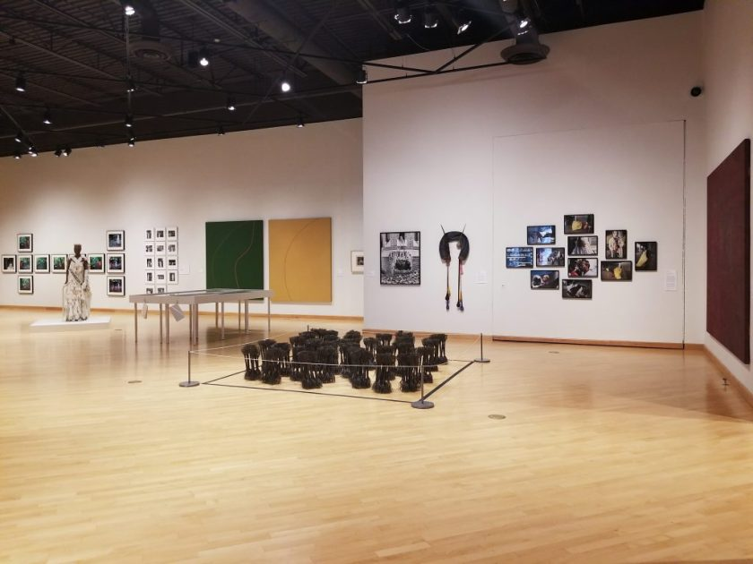Installation view of We Wanted A Revolution: Black Radical Women 1965 - 1985 at the California African American Museum, 2017, Los Angeles. Photo by Tempestt Hazel.
