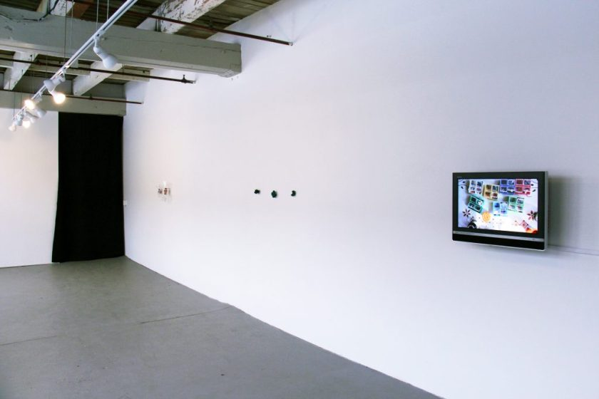 Installation view of Beyond Measure at Tiger Strikes Asteroid. Photograph by Esau McGhee.