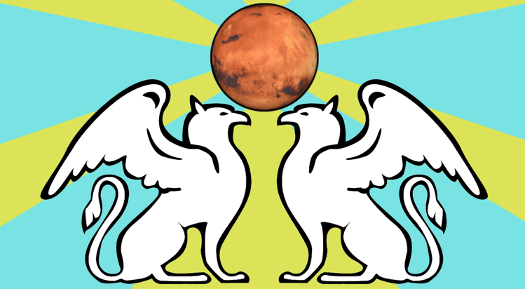 Image: Martian flag concept. Courtesy the author.