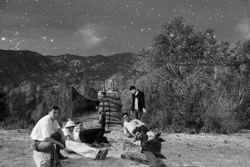 """Image: """"Suicide Squad,"""" Arroyo Seco, Pasadena, CA, 1936/2019 by Barbara Diener."""