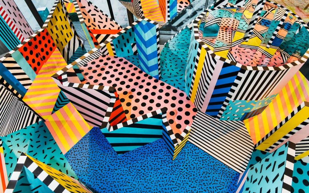 Walala X Play by Camille Walala wows visitors at London's NOW Gallery