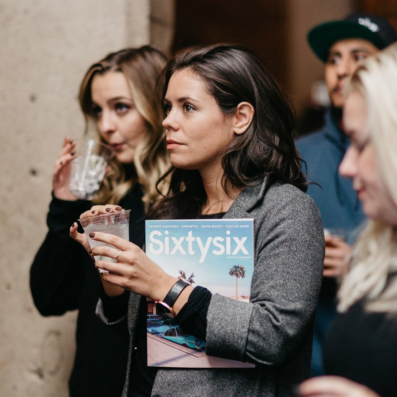 Check Out Photos from the Sixtysix Magazine Launch Party