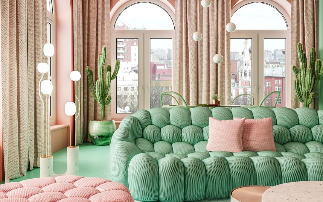Dmitry Reutov Challenges Old-School Design with Otherworldly Interiors