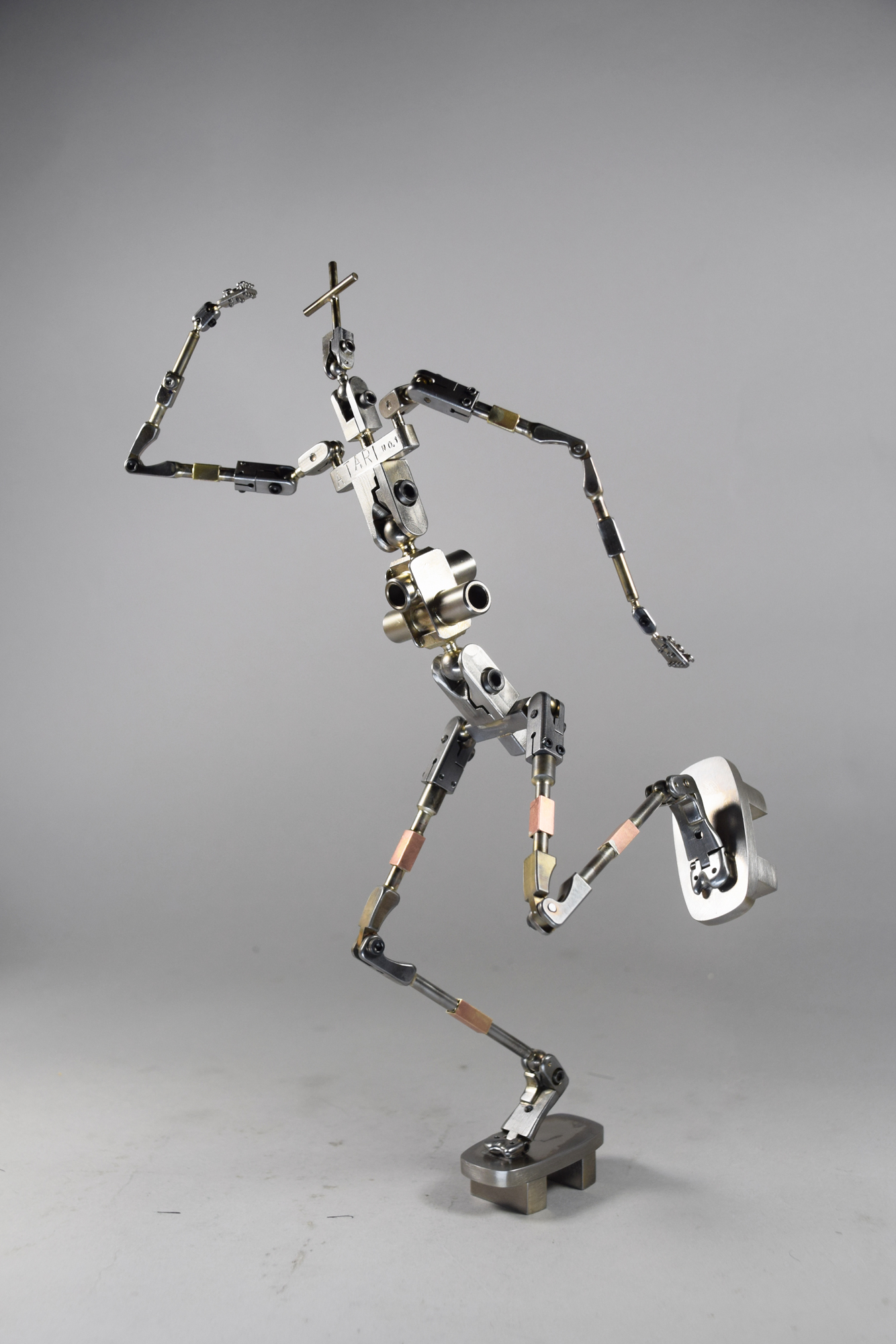 andy gent armature puppet model atari isle of dogs sixtysix