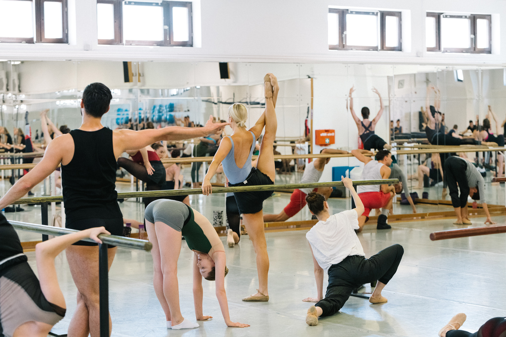 sixtysix mag ariel martin ballet practice