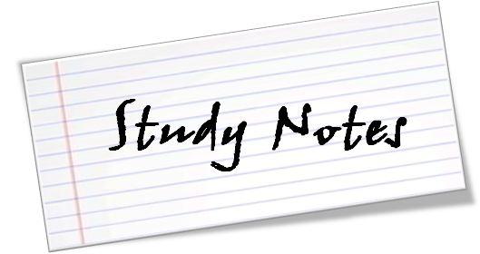 Grade 12 Study Notes