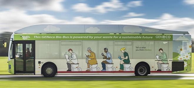 İnsan Dışkısı ile Çalışan Otobüs: Bio-Bus