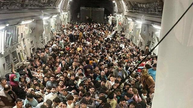 Amerikan basını: tahliye edilen 60 bin afgan'ın yalnızca 20 bini abd'de