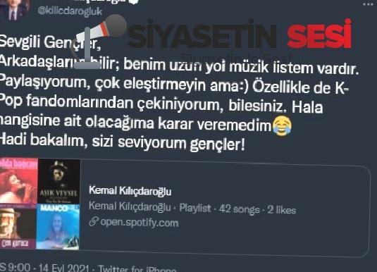 Kemal kılıçdaroğlu'nun listesi amade