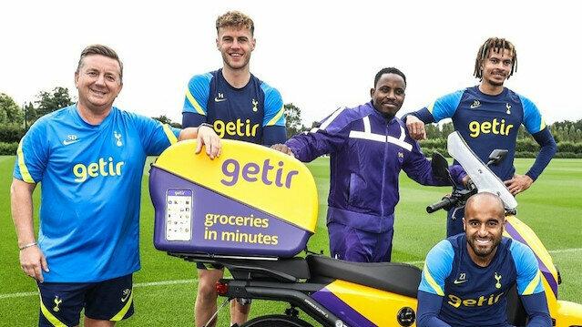 Tottenham'ın resmi sponsoru getir oldu