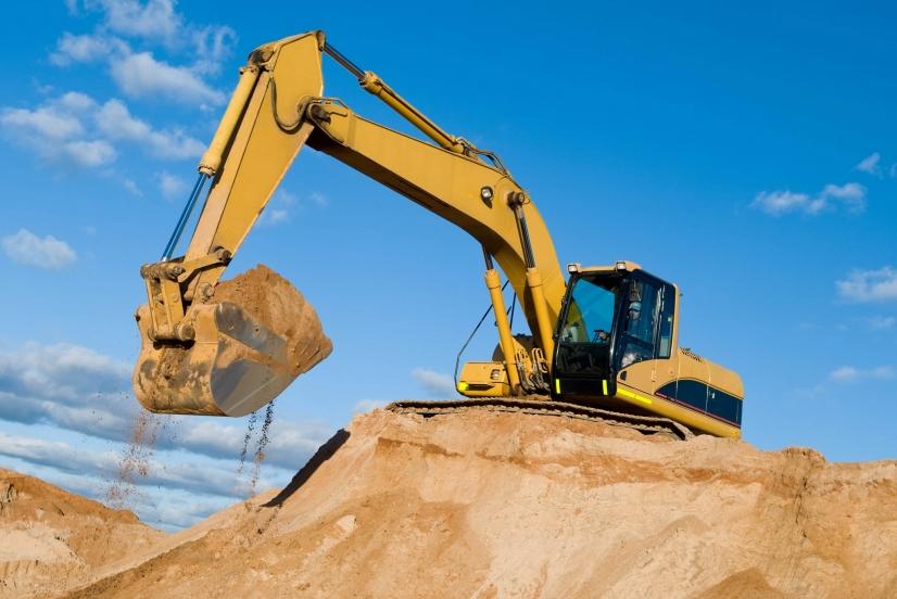 les travaux preparatoires a une operation de construction relevent du champ d application du permis de construire