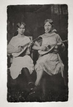 Girls with instruments